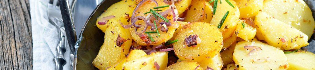 Bratkartoffeln im Pfandl Pro Bad Säckingen